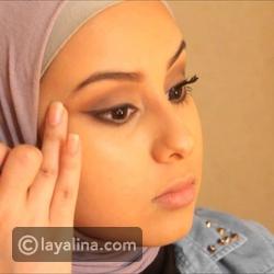 طريقة تطبيق المكياج اليومي من المدونة رزان فهد العودة