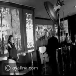 """كواليس تصوير النجمة هند صبري لغلاف """"ليالينا"""" لعدد ديسمبر 2013"""