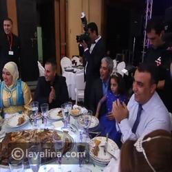 الأغنية التي أهدتها دنيا بطمة لمحمد الترك في ليلة العمر