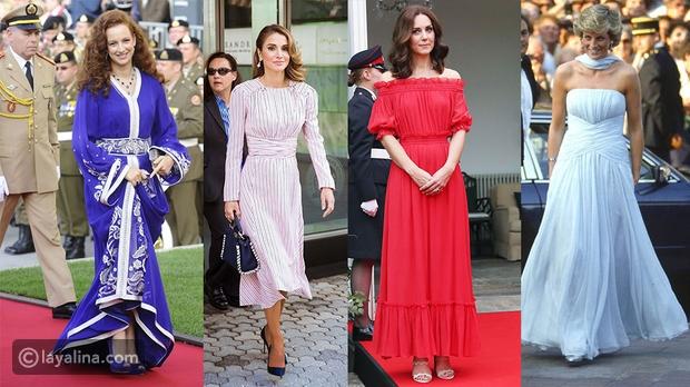قائمة أكثر 10 ملكات وأميرات أناقة وجمال في العالم