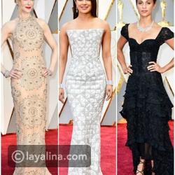 فيديو إطلالات مميزة للنجمات على السجادة الحمراء في الأوسكار Oscar 2017
