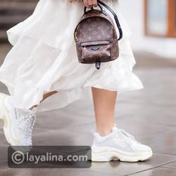 فيديو أنسب ألوان وتصميمات أزياء الشتاء الكاجوال الملائمة للحذاء الأبيض