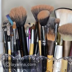10 طرق مذهلة لترتيب أدوات التجميل باستخدام أغراض من داخل المنزل