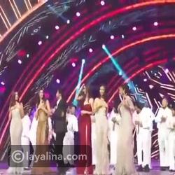 بالفيديو: رقصة لشاروخان في حفل تتويج ملكة جمال الهند 2016