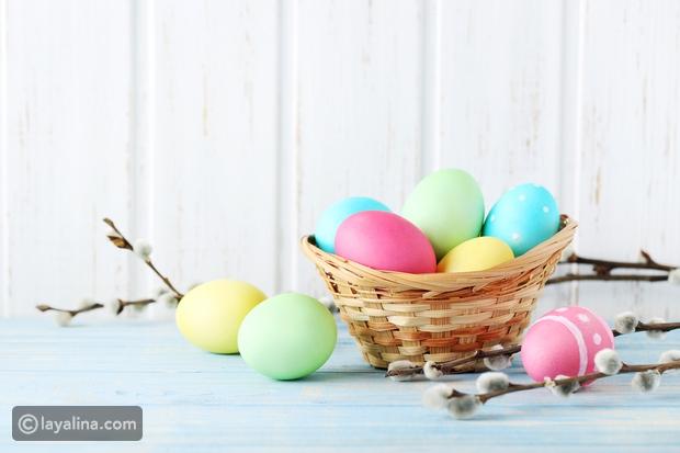 بالفيديو طرق طبيعية لتلوين البيض لعيد الفصح وشم النسيم