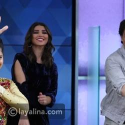 شاروخان يرقص هندي مع مذيعات MBC وحركات مريم سعيد الراقصة تخطف الأنظار
