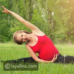 تمارين رياضة للمرأة الحامل من المنزل بدون نادي رياضي