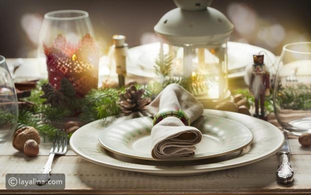فيديو خطوات عمل فوط مائدة لعيد الميلاد