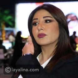 مذيعة العربية منتهى الرمحي تصاب بنوبة ضحك على الهواء تعرضها للهجوم