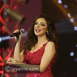شاهد: أنغام تتعرض لموقف محرج أمام جمهورها في الكويت